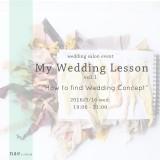 my wedding lesson