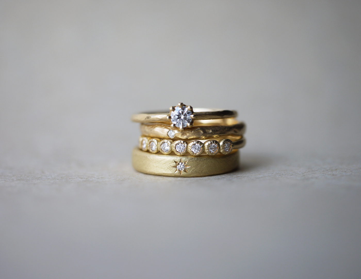 YUKA HOJO_逕サ蜒十1_Gold_rings_original