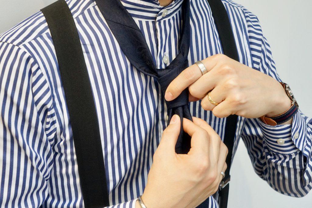 ネクタイの結び方9