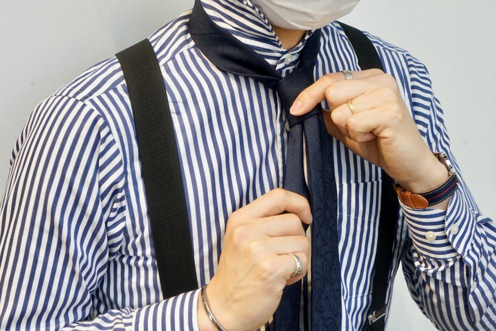 ネクタイの結び方10