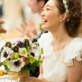 クラシカル&ナチュラルな2wayドレスの花嫁さま